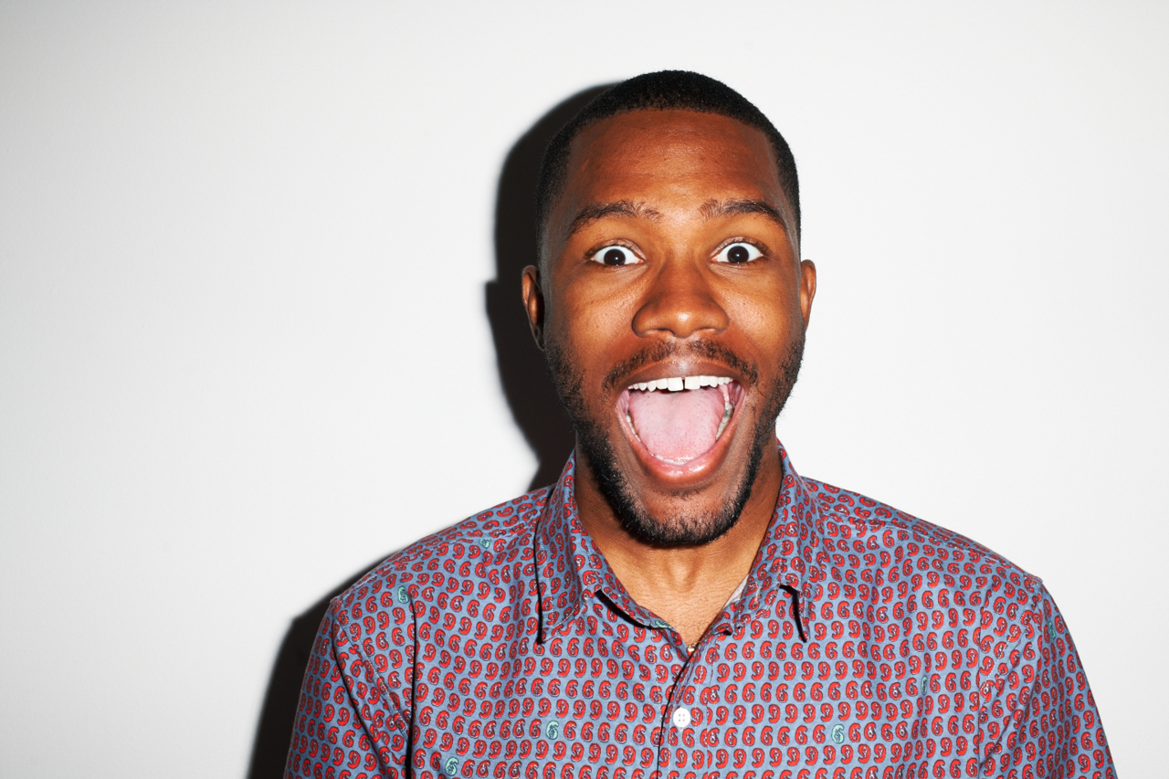 Ever Seen Frank Ocean in a Mosh Pit?