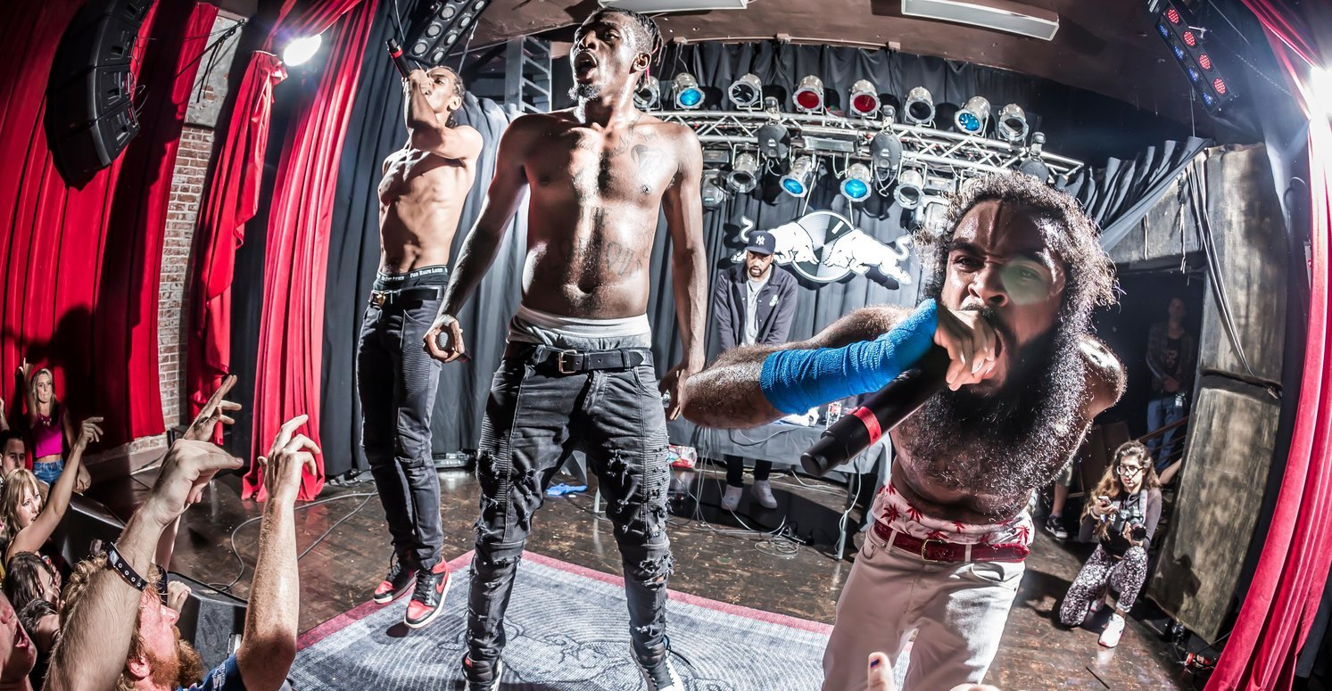 Flatbush Zombies Perform Unreleased Music at Insane Live Show