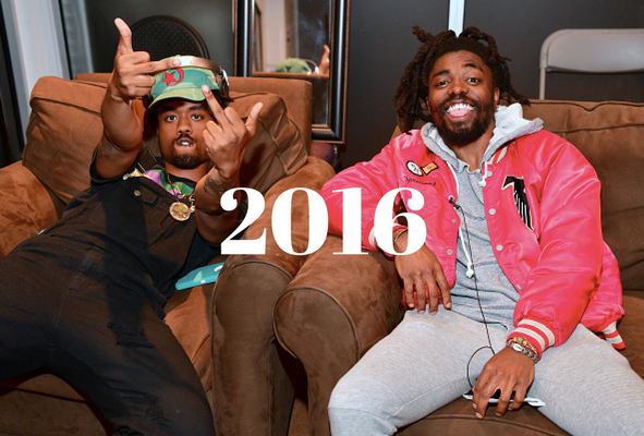 EARTHGANG 2016 interviews