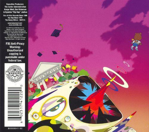 kanye west graduation album cover