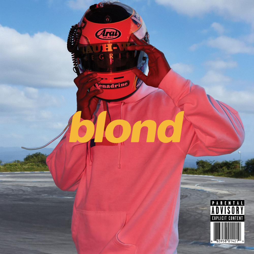 frank ocean blonde artwork