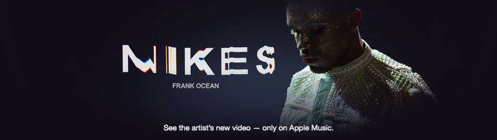nikes music video frank ocean