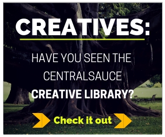 sidebar ad for creative library