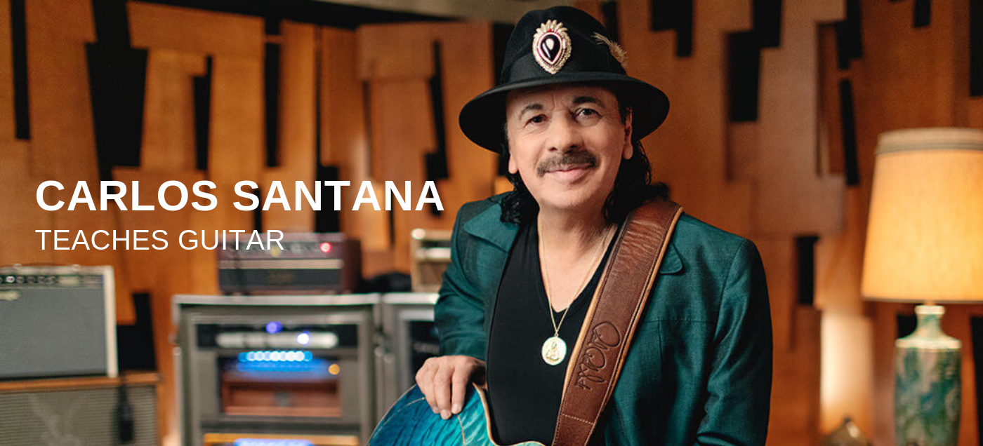 Guitar Lessons with Carlos Santana
