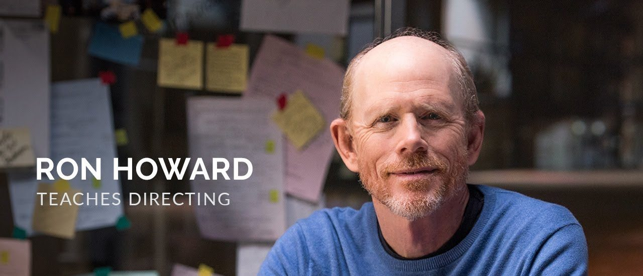 Film Directing Lessons with Ron Howard