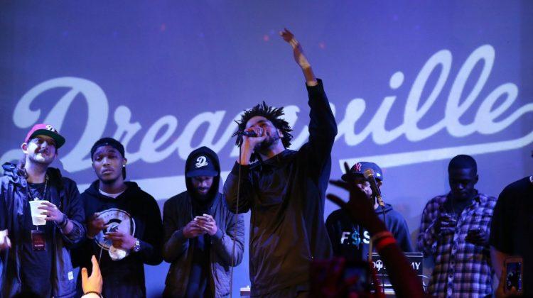 j.cole label dreamville