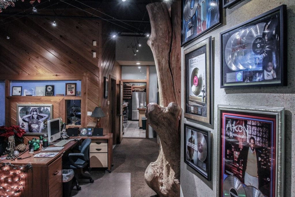 JID studio Atlanta