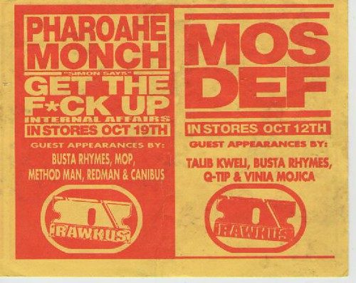 Rakwus Promo Mos Def Pharoahe Monch