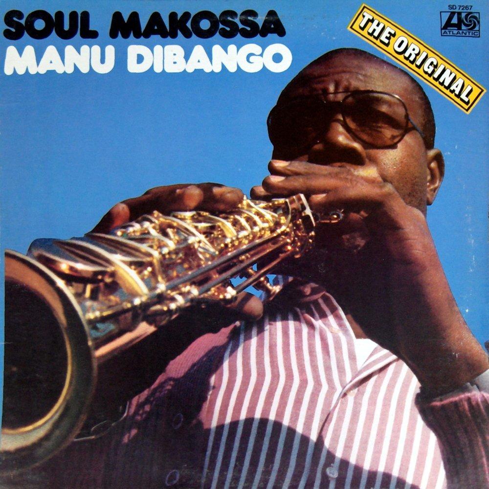 Manu Dibango Vinyl Sleeve 1972