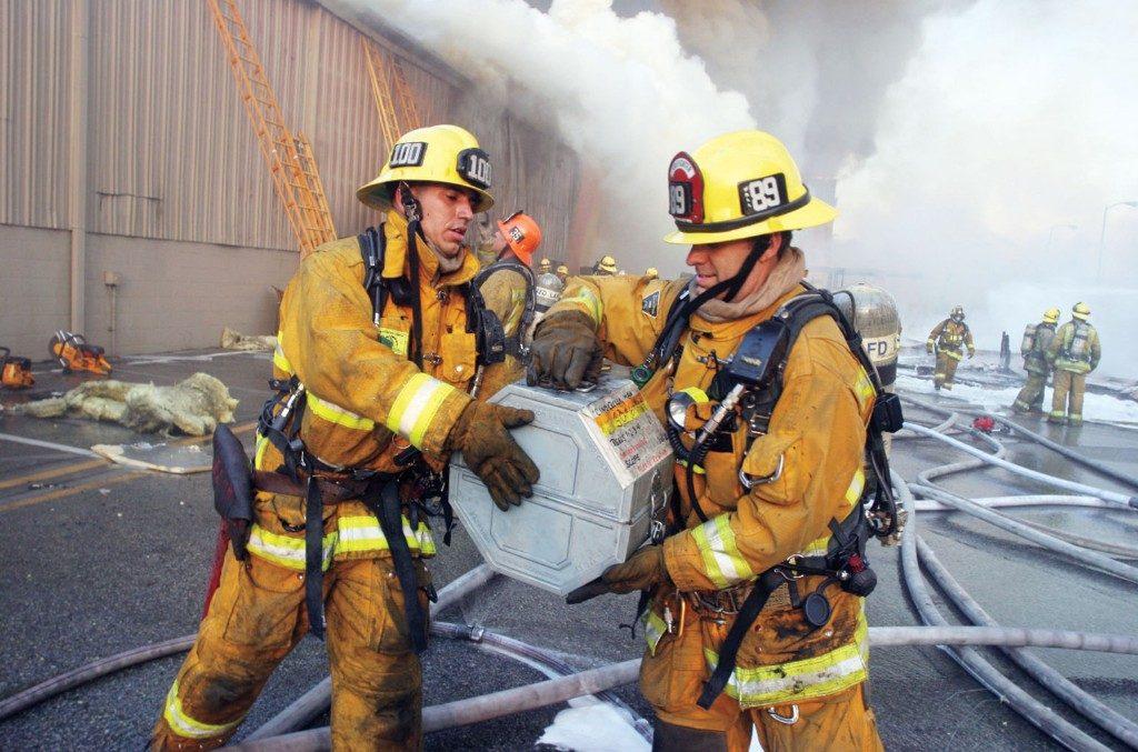 2008 Universal Studios Fire, Vault, Masters, Firefighters, LAFD