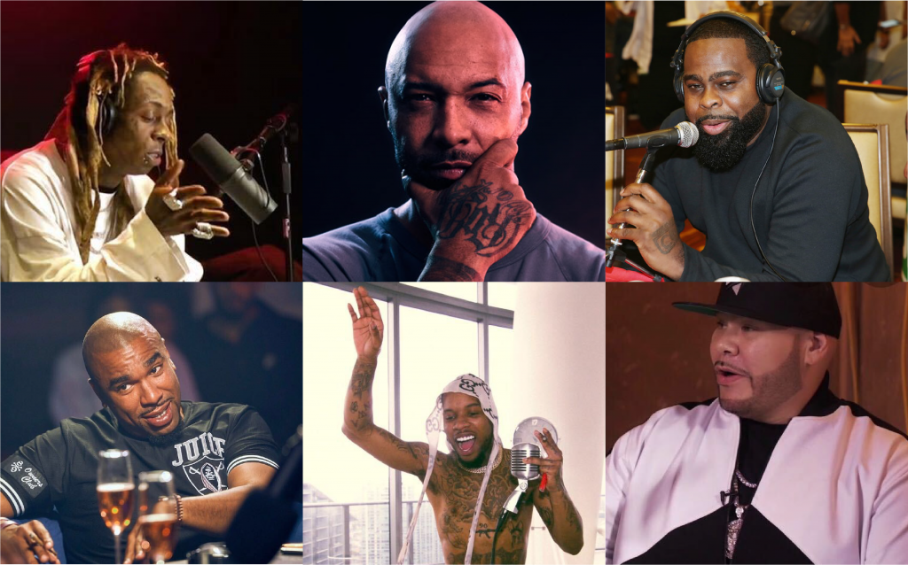 Rappers' Movement To Media: From Creation To Conversation