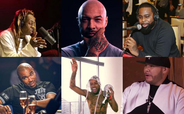 Lil Wayne, Budden, Fat Joe, NORE, Crooked I, Tory Lanez, TIDAL, Spotify, Podcast