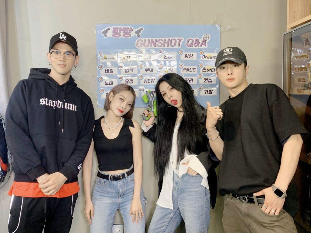 J.Seph, BM, Somin, Jiwoo, idols, k-pop