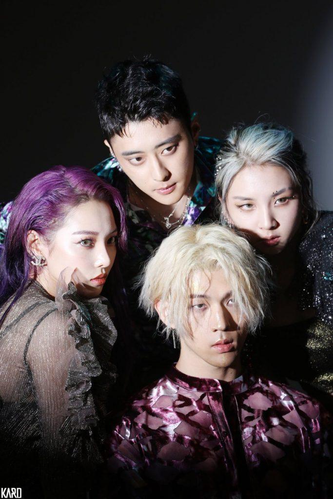 J.Seph, BM, Somin, Jiwoo, k-pop, idol