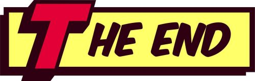 The End, Comic Book Style