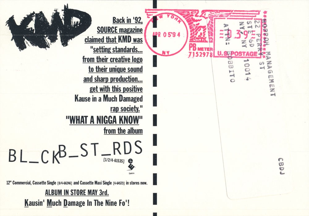 KMD, What A N***a Know, MF DOOM, Bobbito, Stretch Armstrong