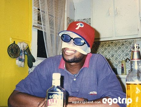 Ego trip, MF DOOM, Facemask, red hat, glasses