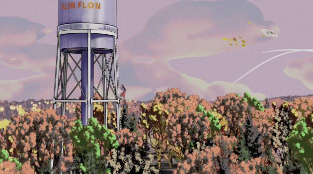 Bluebloods, Postcard from a Quarantined Miner in Flin Flon