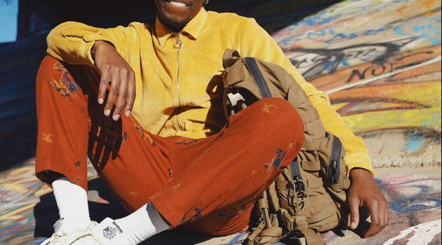 Mickey Woods Jr., Promotional Photo, rockin', rollin'