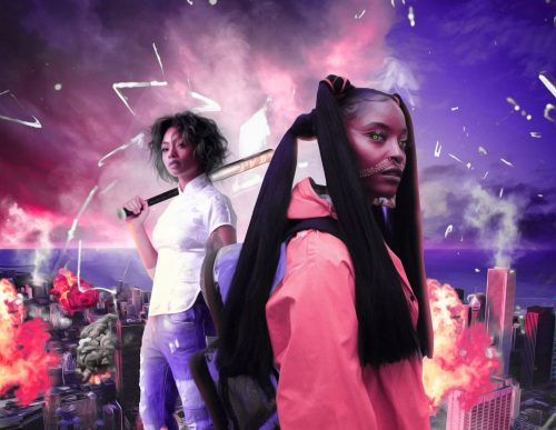 "Tia Nomore, Stoni, ""Skirmish"", Promotional Photo"