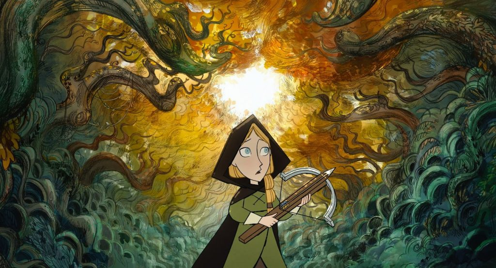 Wolfwalkers, Apple TV, Tomm Moore, Cartoon Saloon, 2D Animation, Traditional Animation